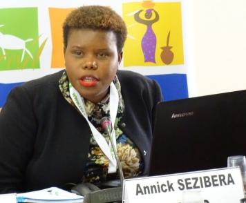 Annick Sezibera, Executive Secretary, CAPAD, Burundi