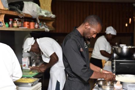 Chef Dane Saddler