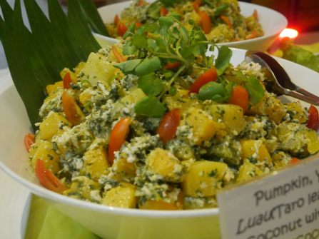 Pacific food at the 2nd Pacific Agribusiness workshop