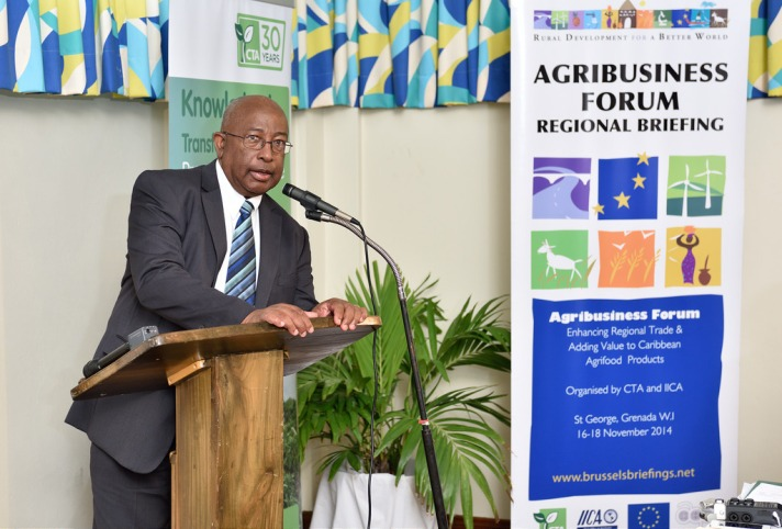 Caribbean Regional Briefing. Enhancing regional trade & Adding value to Caribbean agrifood products cta