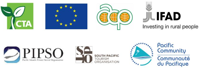 Pacific Regional Agritourism Workshop, Nadi, April 2019